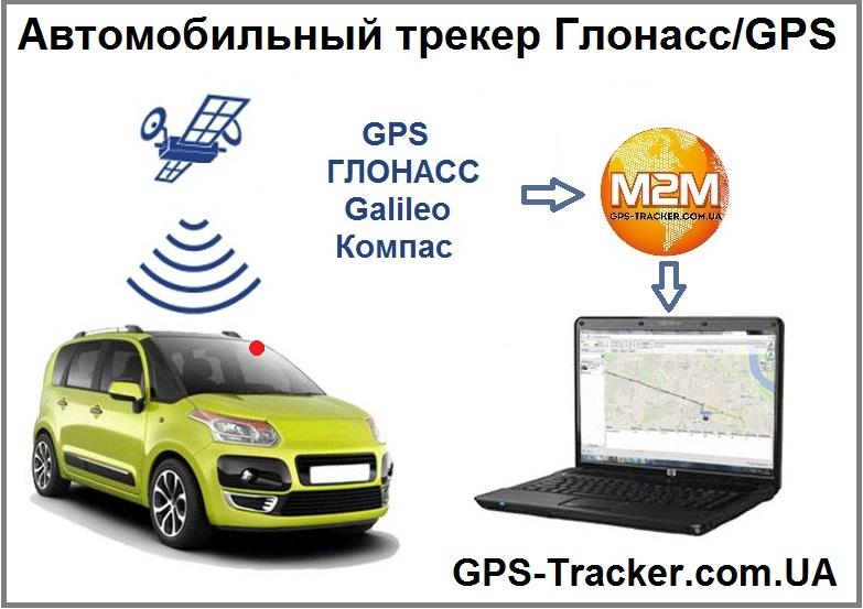 Автомобильный трекер Глонасс/GPS в СНГ