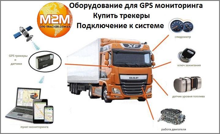 Купить оборудование для GPS мониторинга